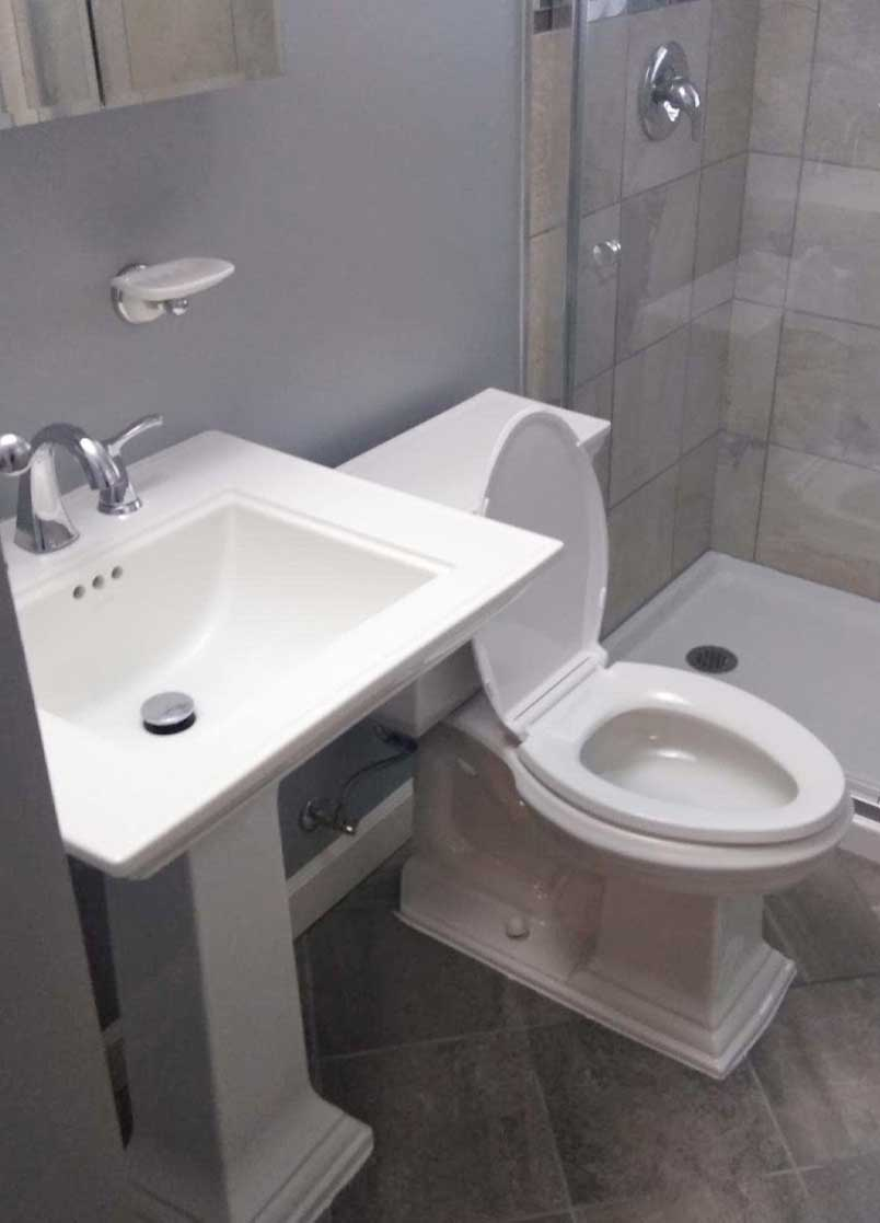 Bathroom Sink and Toilet Replacement Service